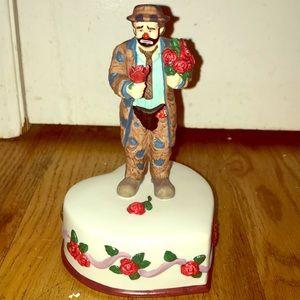 Emmett Kelly musical Figurine